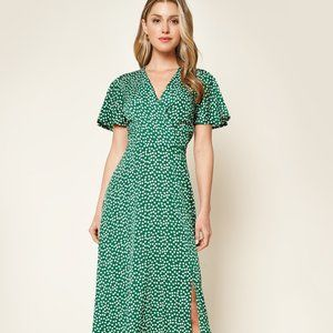 Mulberry Wrapped Dress
